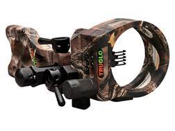 "TRUGLO TSX Pro Micro-Adjust 5-Pin Bow Sight .019"" Diameter Pins Lost Camo"