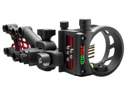 "TRUGLO Carbon Hybrid Micro Adjust 5 Pin Bow Sight .019"" Diameter Pins Black"