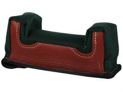 Edgewood Front Shooting Rest Bag New Farley Varmint Width Leather and Nylon Green Unfilled