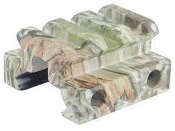 "Remington Picatinny-Style Mini Riser Mount 1-1/3"" Length Aluminum Realtree Max-1 Camo Package of 2"