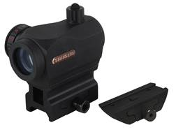 TRUGLO Triton Red Dot Sight 5 MOA Red, Green and Blue Dot with Integral High and Low Weaver-Style...