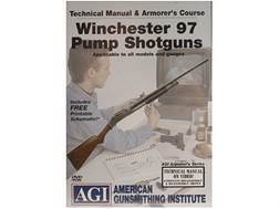 """American Gunsmithing Institute (AGI) Technical Manual & Armorer's Course Video """"Winchester 97 Pum..."""