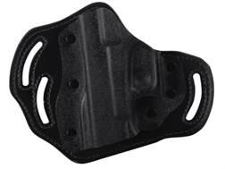 DeSantis Intimidator Belt Holster Left Hand Smith & Wesson J Frame Kydex and Leather Black