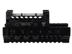 Midwest Industries US Palm 2-Piece Quad Rail Handguard AK-47, AK-74 with Leupold DeltaPoint Top Cover Optic Mount Aluminum Black