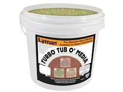 Lyman Turbo Brass Cleaning Media Treated Corn Cob 16 lb Bucket