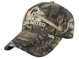 Ducks Unlimited Logo Cap Cotton Realtree Max-4 Camo