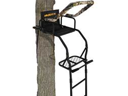 Muddy Outdoors The Outlander 17' Single Ladder Treestand Steel Black