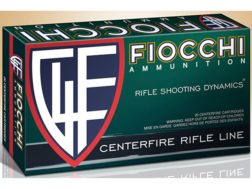 Fiocchi Shooting Dynamics Ammunition 7.62x39mm 123 Grain Full Metal Jacket