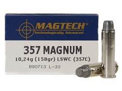 Magtech Sport Ammunition 357 Magnum 158 Grain Lead Semi-Wadcutter Case of 1000 (20 Boxes of 50)