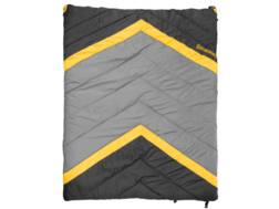 "Browning Side-By-Side Sleeping Bag 68"" x 80"" Nylon Clay and Black"