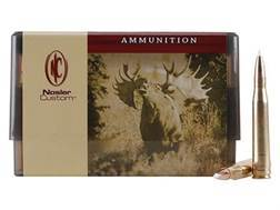 Nosler Custom Ammunition 300 H&H Magnum 200 Grain AccuBond Spitzer Box of 20