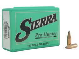 Sierra Pro-Hunter Bullets 264 Caliber, 6.5mm (264 Diameter) 120 Grain Spitzer Box of 100