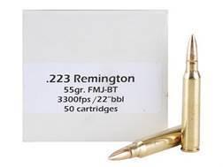 Doubletap Ammunition 223 Remington 55 Grain Full Metal Jacket Boat Tail Box of 50