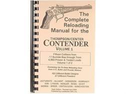 "Loadbooks USA ""Thompson Center Contender Volume 1"" Reloading Manual Calibers 17 Bumble Bee to 7mm TCU"