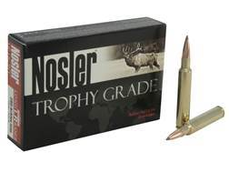 Nosler Trophy Grade Ammunition 280 Remington Ackley Improved 150 Grain AccuBond Long Range Box of 20