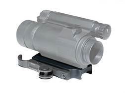 GG&G Accucam Quick-Detach Aimpoint CompM4 Sight Mounting Base Picatinny-Style Matte