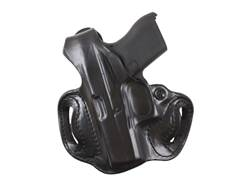 DeSantisThumb Break Mini Slide Holster Left Hand Sig P290 Leather Black