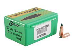 Sierra BlitzKing Bullets 20 Caliber (204 Diameter) 39 Grain Boat Tail
