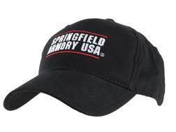 Springfield Armory Cap Cotton Black
