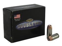 Doubletap Ammunition 40 S&W 155 Grain Bonded Defense Jacketed Hollow Point Box of 20