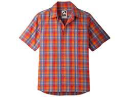 Mountain Khakis Men's Deep Creek Crinkle Shirt Short Sleeve Cotton Multi