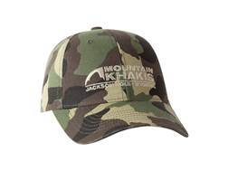 Mountain Khakis Camo Logo Cap Chino Twill Green Camo