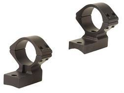 "Talley Lightweight 2-Piece Scope Mounts with Integral 1"" Extended Front Weatherby Magnum Matte Medium"