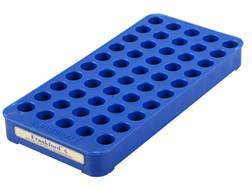 Frankford Arsenal Perfect Fit Reloading Tray #6 41 Remington Magnum, 45 Colt (Long Colt), 30-30 Winchester 50-Round Blue