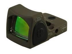 Trijicon RMR Reflex Red Dot Sight Adjustable LED 6.50 MOA Red Dot Cerakote Flat Dark Earth - Blemished