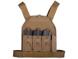 US Palm AR-15 Defender Series Soft Body Armor Level 3A Front and Back Panels 500d Cordura Nylon Coyote Large