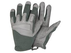 BlackHawk Fury Commando Gloves Leather Nylon and Kevlar Olive Drab Medium