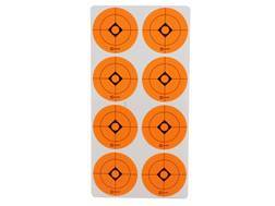 "Caldwell Target Spots 1-1/2"" Pack of 12 Sheets 8 Spots per Sheet Orange"