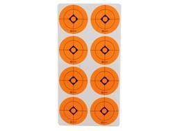 "Caldwell Target Spots 1-1/2"" Pack of 12 Sheets 8 Spots per Sheet Orange"