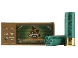 "Hevi-Shot Duck Waterfowl Ammunition 12 Gauge 3"" 1-3/8 oz B Non-Toxic Shot"