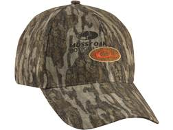 Drake Men's Non-Typical Cap Cotton Mossy Oak Bottomland Camo