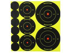"Birchwood Casey Shoot-N-C Targets 72-1"", 36-2"" and 24-3"" Round Assortment Pack of 10"
