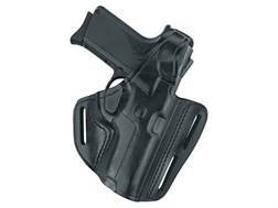"Gould & Goodrich B803 Belt Holster Left Hand S&W L-Frame, Ruger GP100, SP101 3""-4"" Barrels Leather Black"