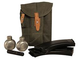 Military Surplus AK-47 Accessory Pack with 2 AK-47 7.62x39mm AK-47 Magazines