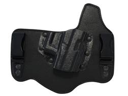 Galco King Tuk Tuckable Inside the Waistband Holster1911 Officer, Micro Leather and Kydex Black
