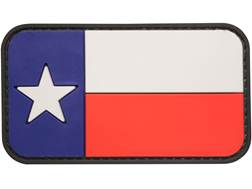 "5ive Star Gear Texas Flag PVC Morale Patch Red, White, and Blue 2"" x 3"""