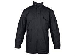 Tru-Spec M-65 Field Jacket Nylon Cotton Sateen with Liner Black Large