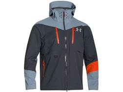 Under Armour Men's Ridge Reaper Hydro Rain Jacket Polyester Stealth Gray Medium 38-40