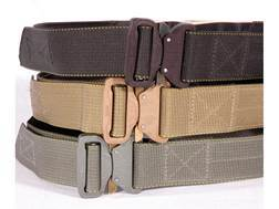 "CrossTac D-Belt II Tactical Belt 1-3/4"" Steel Buckle Nylon Coyote 44"" to 46"""