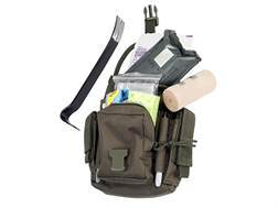 Falcon Industries ERGO First Responder Go-Bag Emergency Kit Olive Drab Nylon