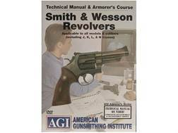 "American Gunsmithing Institute (AGI) Technical Manual & Armorer's Course Video ""Smith & Wesson Revolvers"" DVD"