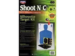 "Birchwood Casey Shoot-N-C 12"" x 18"" Silhouette Targets Kit (2 - 12"" x 18"", 2 - 9"", 6 - 4"")"