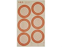National Target International Bench Rest Shooters Target IBS 300 YD Hunter Rifle Paper Package of 50