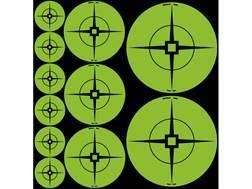 "Birchwood Casey Target Spots Assorted Pack Atomic Green (60-1"", 30-2"", 20-3"")"