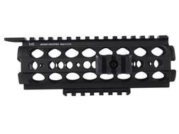 Midwest Industries SS-Series 2-Piece Drop-In Modular Rail Handguard AR-15 Carbine Length Aluminum Black