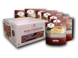 Wise Food Wise Favorites Freeze Dried Food Pack of 7